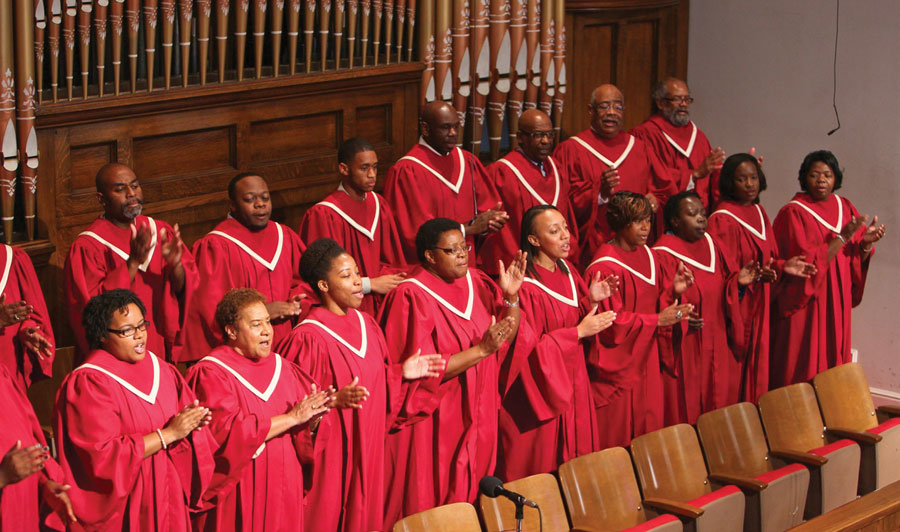 Birmingham Civil Rights 16th Street Baptist Church Choir Singing Gospel