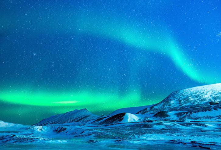 Nordlichter über Alaska