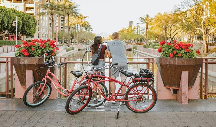 Old Town Scottsdale mit dem E-Bike erkunden?