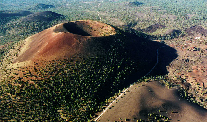 Sunset Crater bei Flagstaff