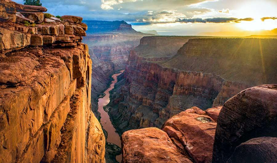 Die wohl berühmteste Schlucht der USA: der Grand Canyon