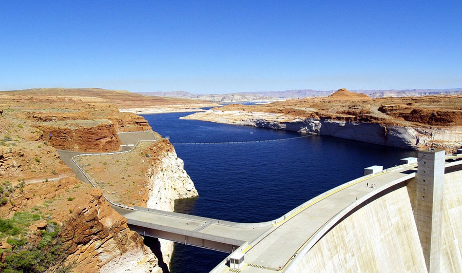 Lake Powell und Glen Canyon Dam