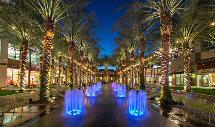Scottsdale Quarter Fountain