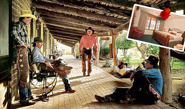 Cowboy-Feeling auf der Tanque Verde Ranch