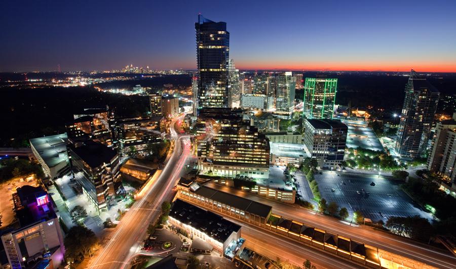 Atlanta, Buckhead-Skyline