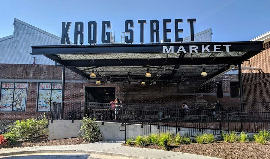 Krog Street Market - eine der besten Food Halls Georgias
