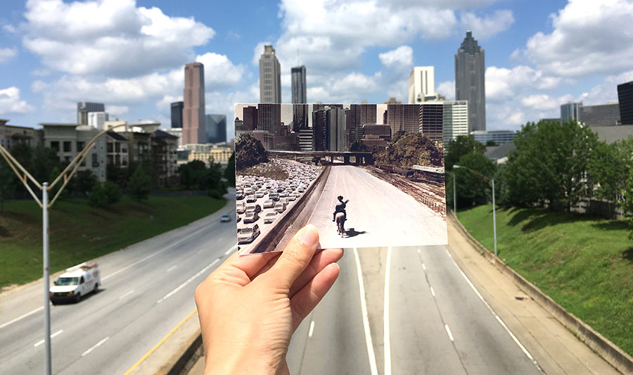 """The Walking Dead"" Skyline Blick 