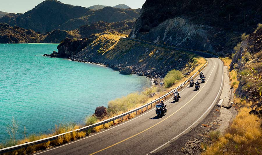 Malerische Küsten in Baja California