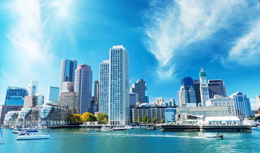 Boston Hafen