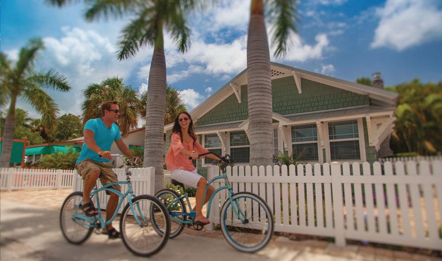 Erkunden Sie die Bradenton Area z.B. auf einer Radtour!