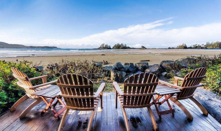 Chesterman Beach bei Tofino, Vancouver Island