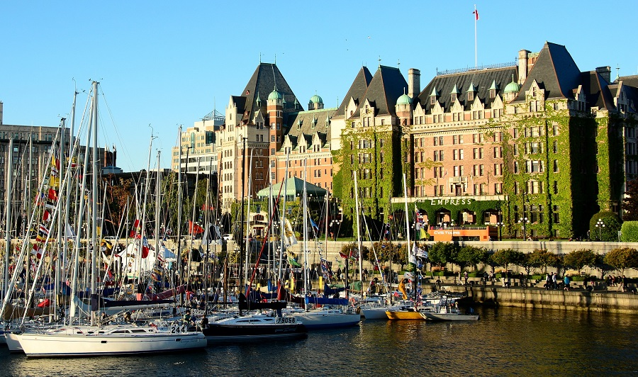 Victoria, Hauptstadt British Columbias