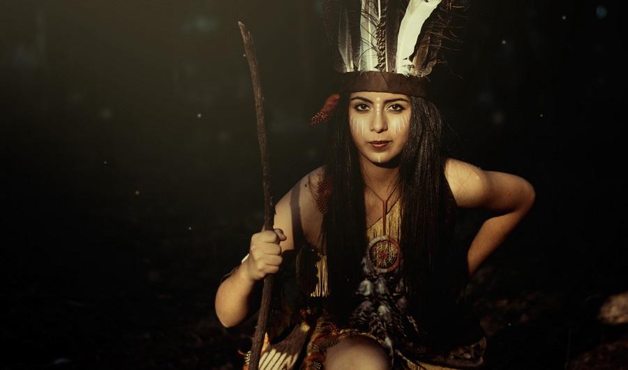 Pocahontas - so mag sie ausgesehen haben.