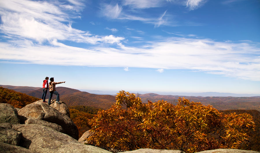 Blue Ridge Mountains - The Priest Overlook