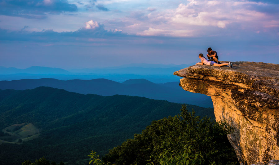 Blue Ridge Mountains - McAfee Knob