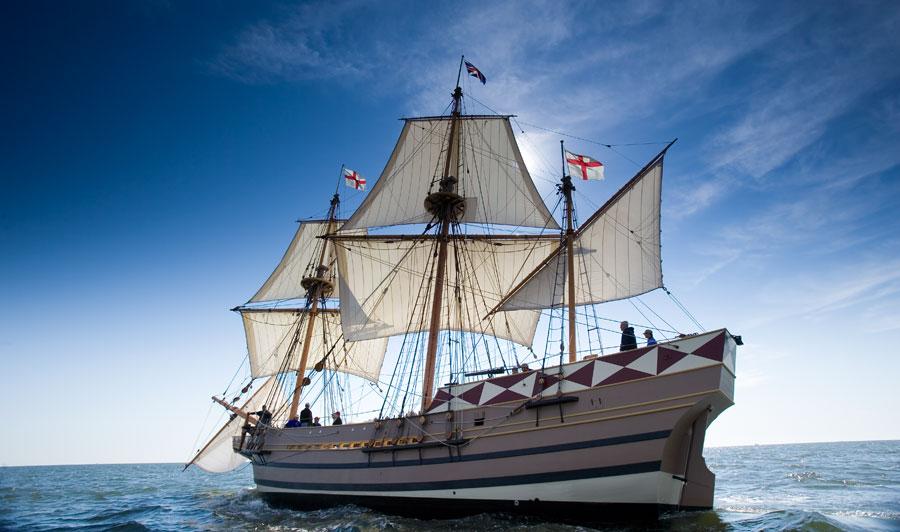 The Godspeed   Jamestown Settlement