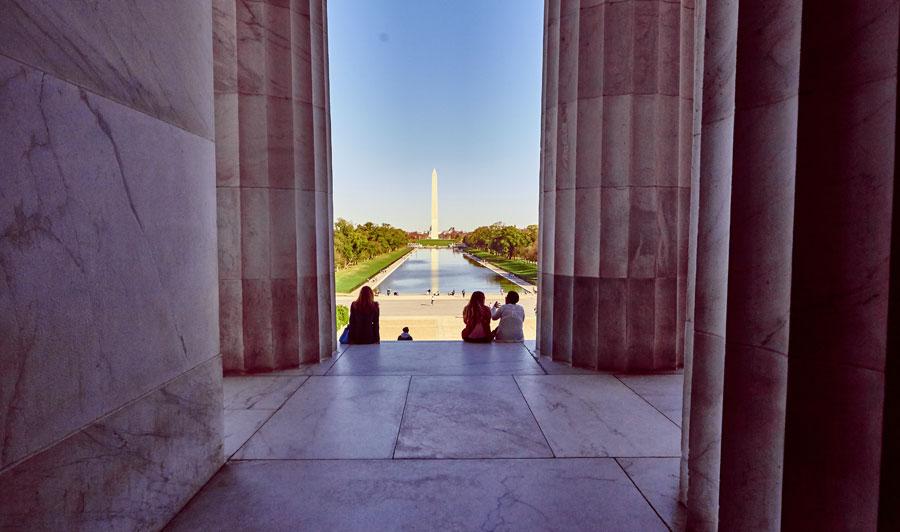 Washington Monument & Lincoln Memorial | Lincoln Memorial