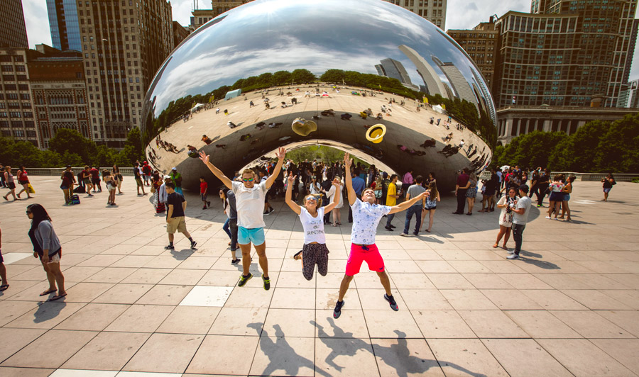 Chicago | Millenium Park Cloud Gate