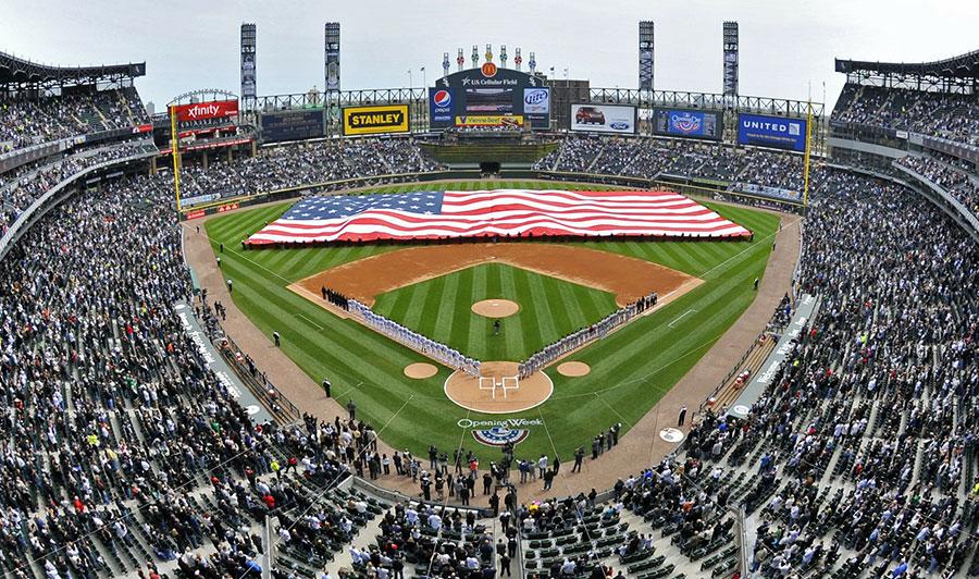 Heimat der White Sox in Chicago