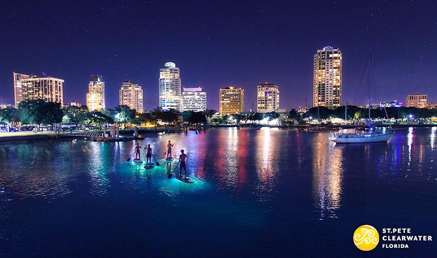 Glitzerndes Nachtleben in St. Pete/Clearwater