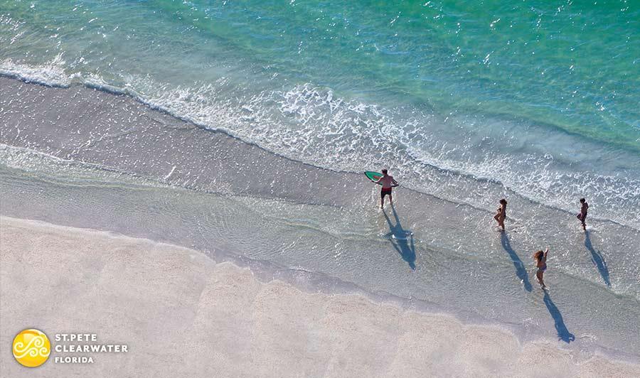 Türkisfarbener Golf und weiße Traumstrände