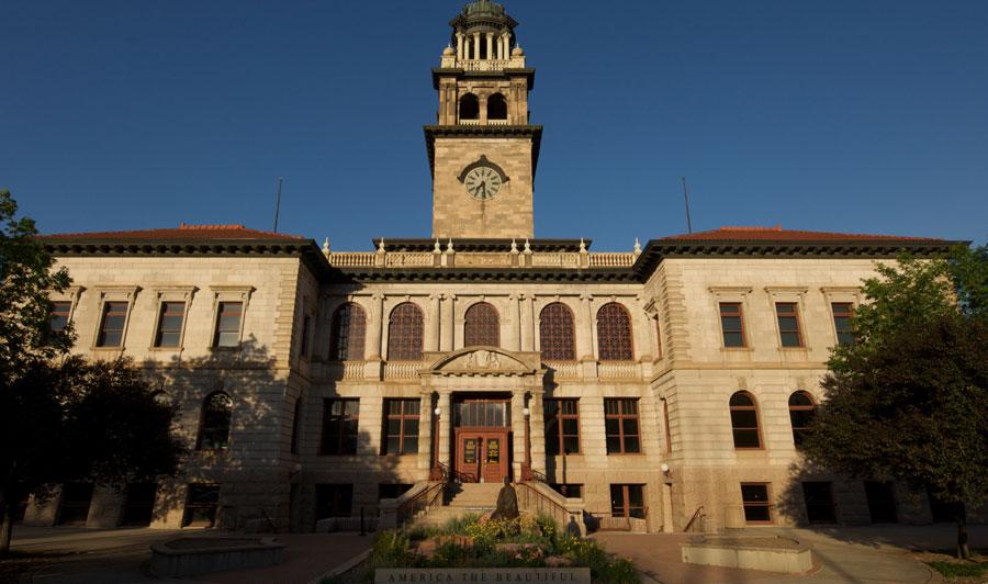 El Paso County Courthouse - Colorado Springs Pioneers Museum  | Colorado Springs Pioneers Museum