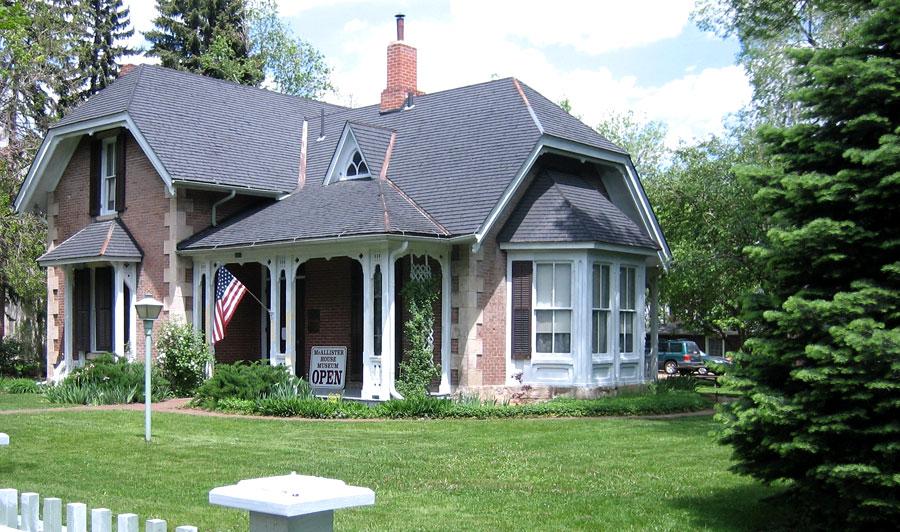 McAllister House Museum   | McAllister House, Colorado Springs