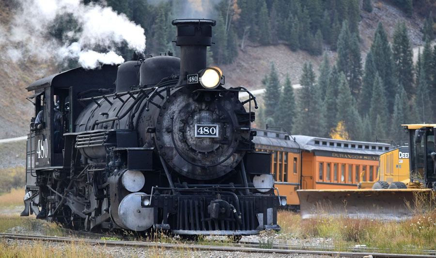 Durango | Durango & Silverton Railroad Train