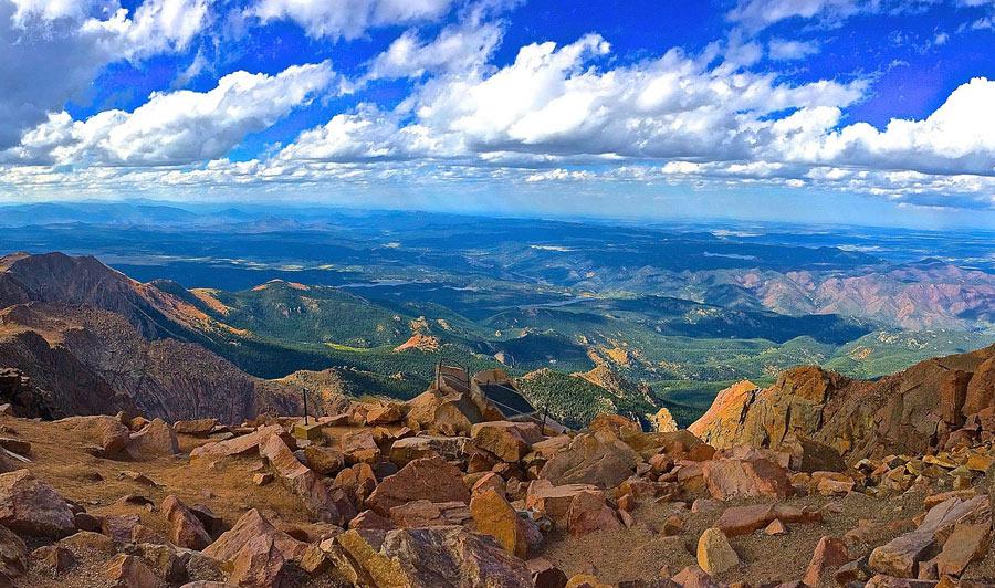 Aussicht vom Pikes Peak