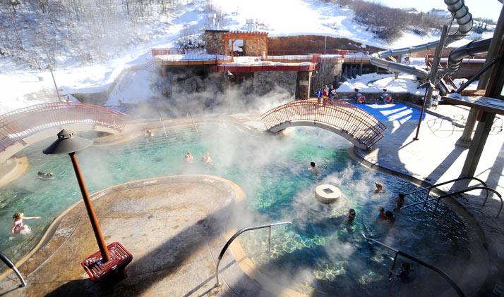 Old Town Hot Springs in Steamboat Springs