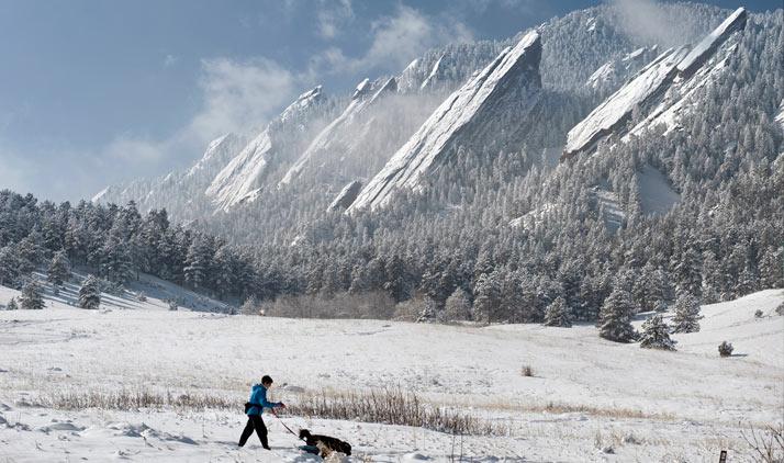 Boulder | Flatirons bei Boulder