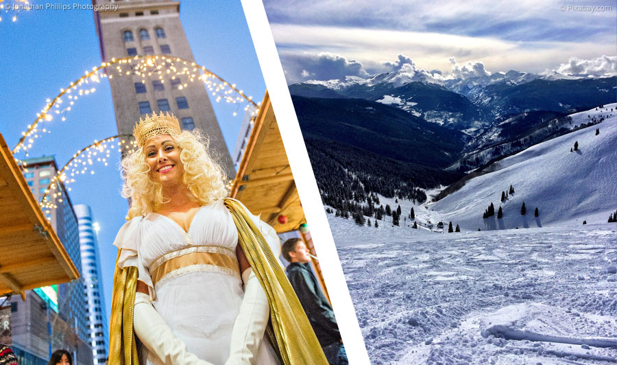 Winter in den Rockies: Schnee, heiße Quellen & Western-Feeling
