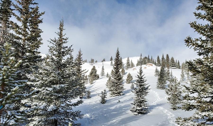 Winterliches Colorado