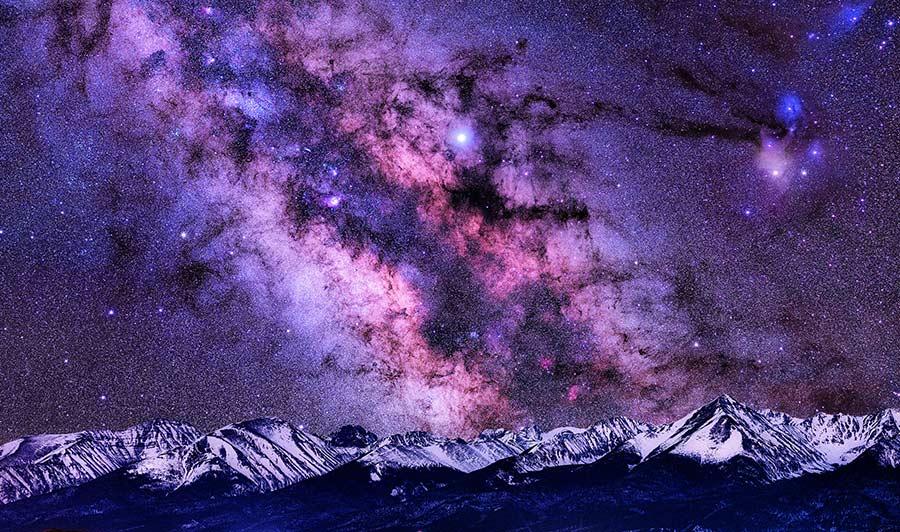 Die Milchstraße mit bloßem Auge sehen: Westcliffe, Colorado