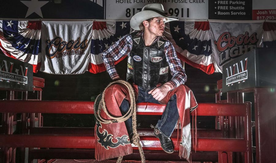 Rodeo: Bullenreiter in Forth Worth