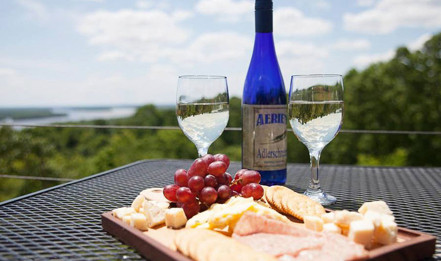 Aeries Winery in Grafton
