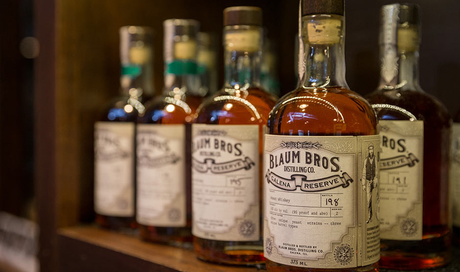 Whiskey, Gin und Vodka bei den Blaum Brothers in Galena