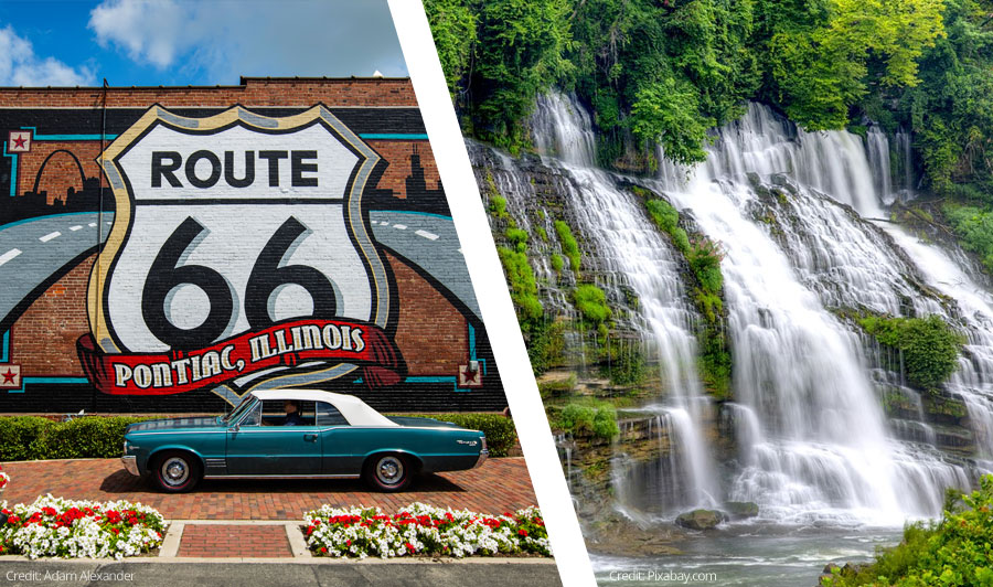 Abenteuer Route 66 und die oberen Südstaaten