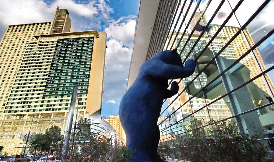 Blue Bear in Denver