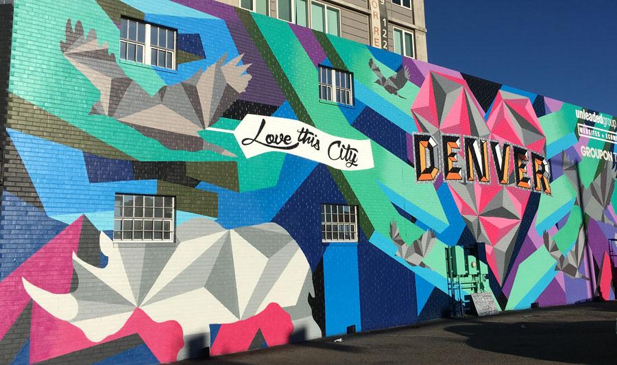 Street Art in Denver, Colorado