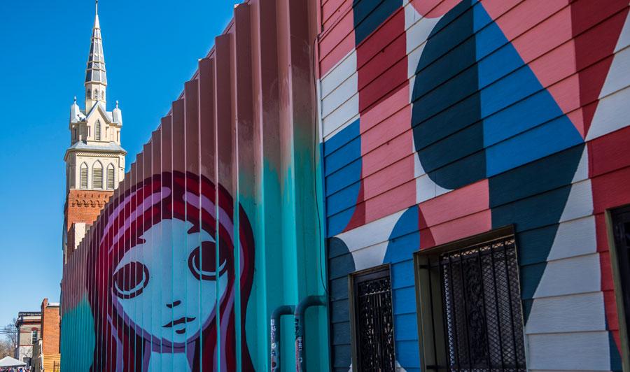 Street Art in Denvers RiNo District