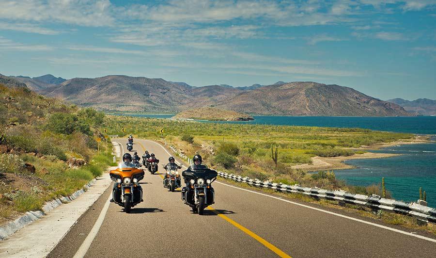 Malerische Highways in Baja California