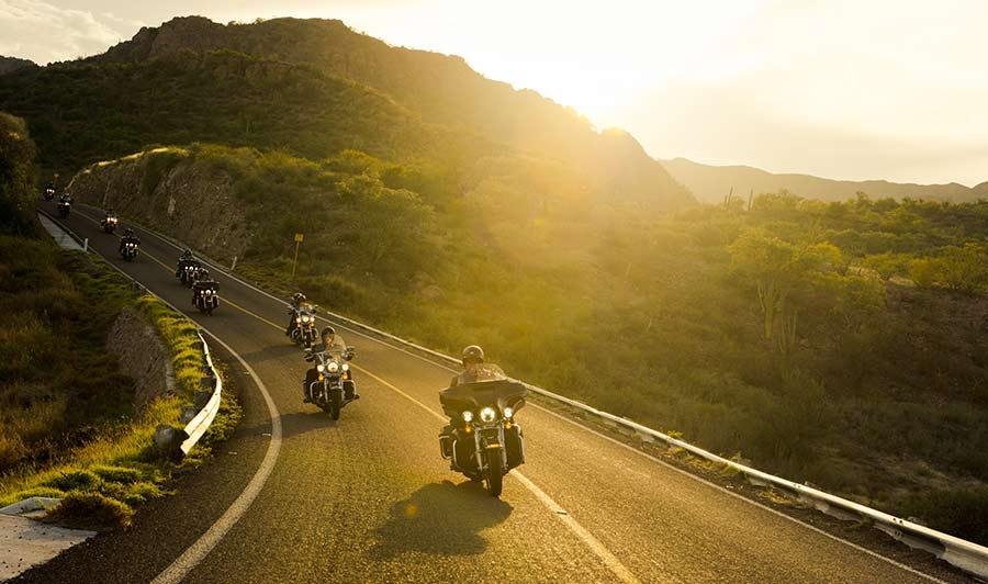 Abwechslungsreiche Landschaft in Baja California