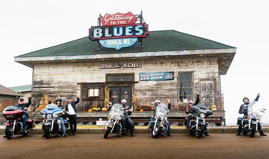 Ridin' down the Blues Highway
