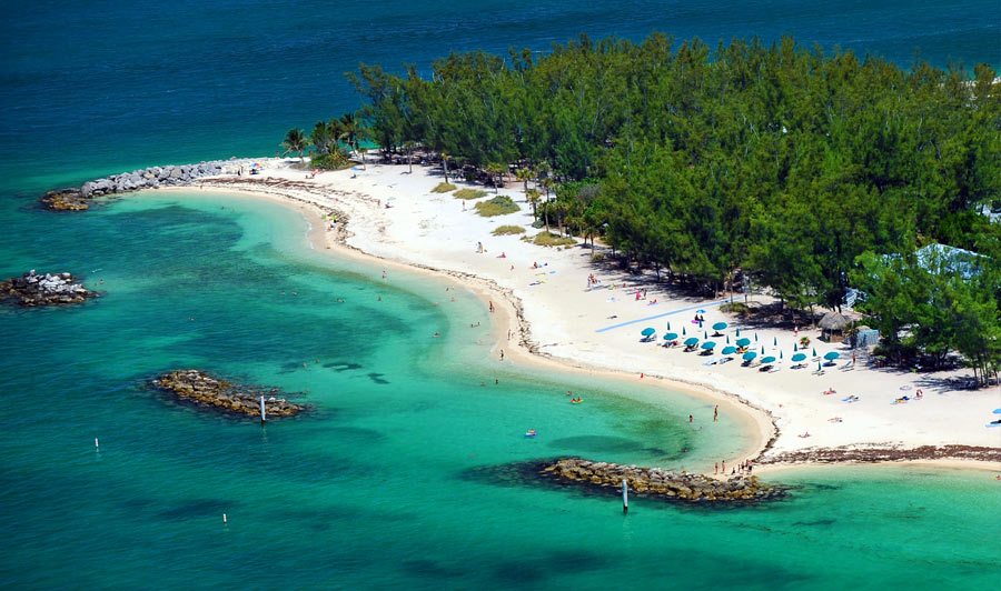 Strand im Fort Zachary Taylor State Park, Key West
