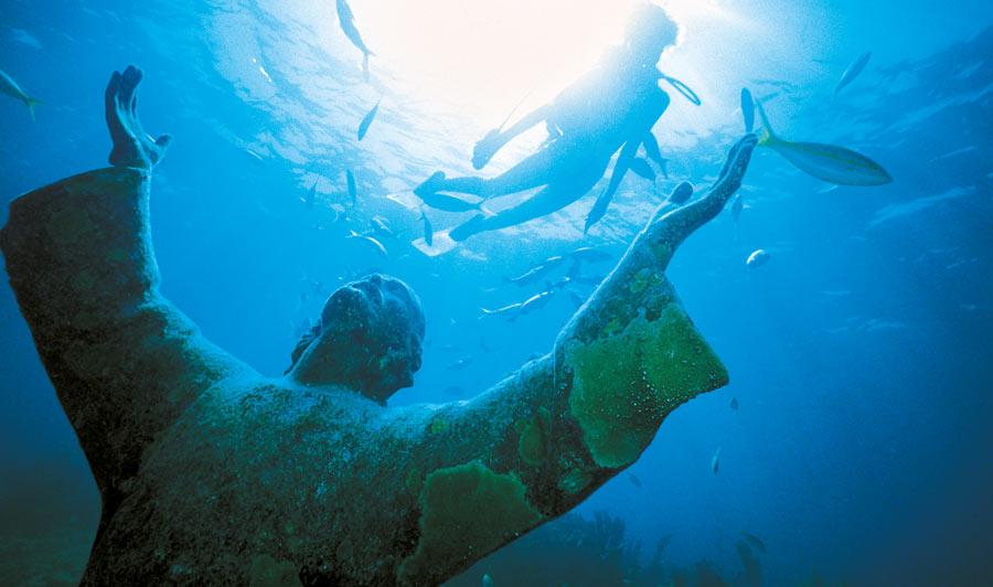 Tauchen im John Pennecamp Coral Reef S.P., Key Largo