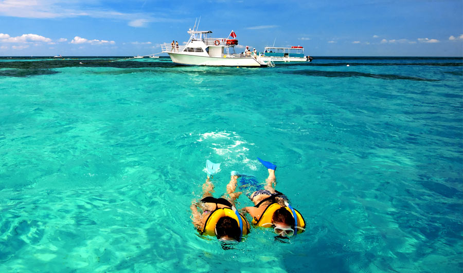 Schnorcheln im John Pennecamp Coral Reef S.P., Key Largo