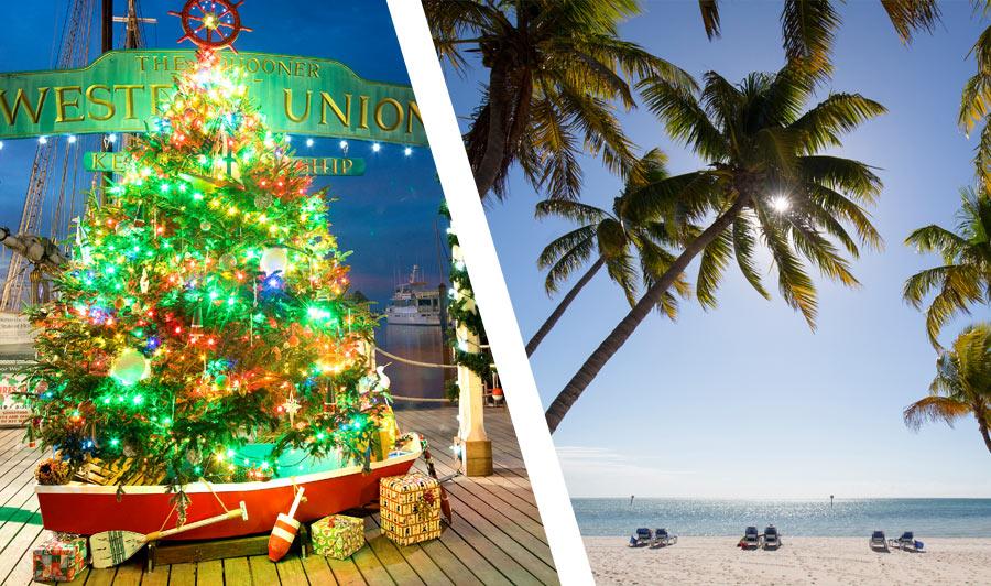 Weihnachtszeit auf den Florida Keys