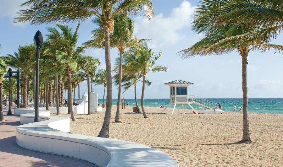 Fort Lauderdale - Strandpromendade