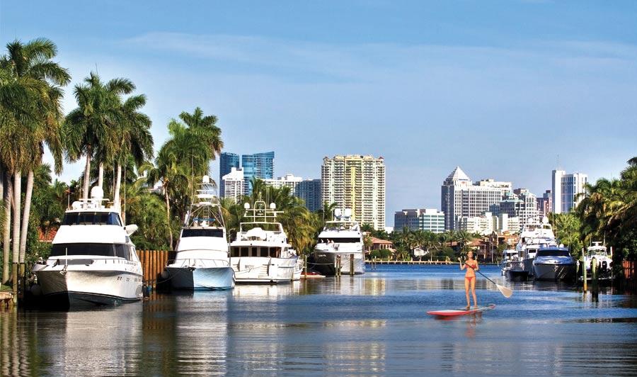 Ft. Lauderdale - das Venedig Amerikas